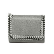 Stella McCartney FALABELLA Faux Fur Folding Wallets