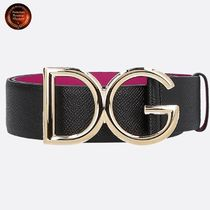 Dolce & Gabbana Casual Style Leather Belts