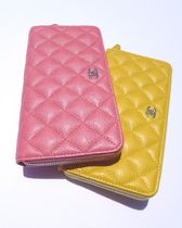 CHANEL TIMELESS CLASSICS Leather Long Wallet  Long Wallets