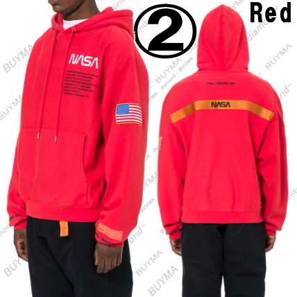 Heron Preston Hoodies Unisex Street Style Long Sleeves Cotton Hoodies 8