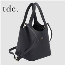 The Daily Edited Saffiano Plain Elegant Style Shoulder Bags