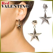 VALENTINO Star Casual Style Brass Earrings & Piercings