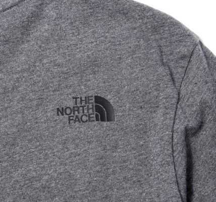 THE NORTH FACE More T-Shirts Long Sleeves Plain Other Animal Patterns Cotton T-Shirts 6