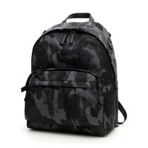 PRADA Camouflage Casual Style Nylon Backpacks