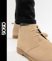 ASOS Leather Chukkas Boots