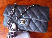 CHANEL MATELASSE Casual Style Leather Shoulder Bags