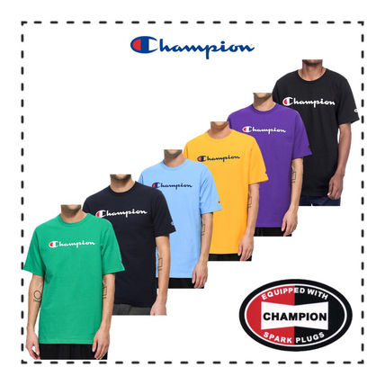 CHAMPION 2018-19AW Cotton Short Sleeves T-Shirts
