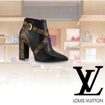 Louis Vuitton Casual Style Leather Ankle & Booties Boots