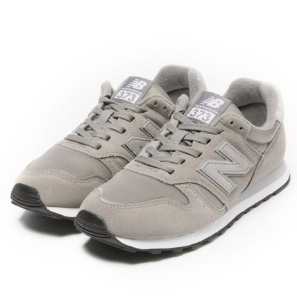 quality design 5e287 890e2 New Balance 373 2018-19AW Rubber Sole Casual Style Street Style Plain  Leather