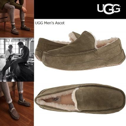 ... UGG Australia Loafers & Slip-ons Moccasin Suede Plain Loafers ...