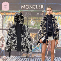 MONCLER MORION Short Flower Patterns Casual Style Street Style Jackets