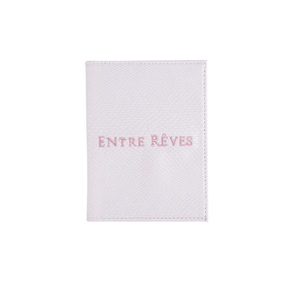 Unisex Blended Fabrics Passport Cases