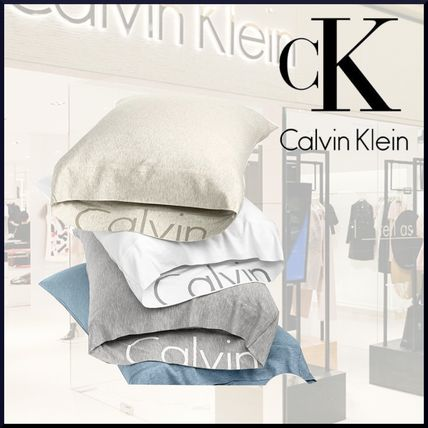 Calvin Klein 40 SS Unisex Street Style Plain Pillowcases Mesmerizing Calvin Klein Decorative Pillows