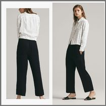 Massimo Dutti Casual Style Plain Cropped & Capris Pants