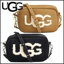 UGG Australia Casual Style Suede Shoulder Bags