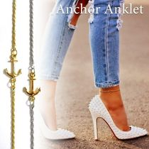 Casual Style Unisex Chain Anklets