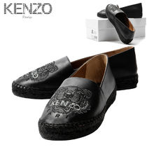 KENZO Round Toe Casual Style Street Style Other Animal Patterns