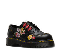 Dr Martens SEROVA Flower Patterns Casual Style Leather Boots Boots