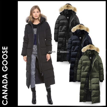 ... CANADA GOOSE Down Jackets Casual Style Plain Long Down Jackets ...