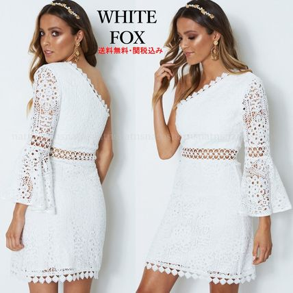 9ab389dca2 WHITE FOX 2018-19AW Short Tight Lace Dresses by natns - BUYMA