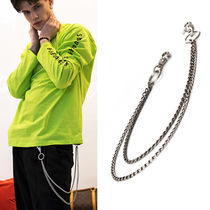Street Style Chain Plain Watches & Jewelry