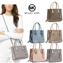 Michael Kors MERCER 2WAY Plain Leather Home Party Ideas Elegant Style