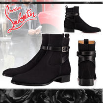 Christian Louboutin Leather Chukkas Boots