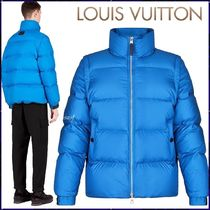 Louis Vuitton Blended Fabrics Street Style Plain Down Jackets