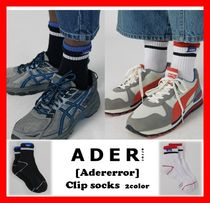 ADERERROR Unisex Street Style Cotton Socks & Tights