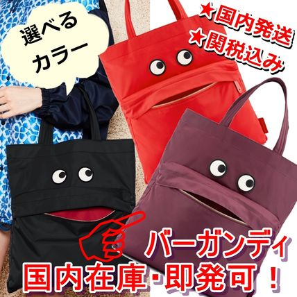 Casual Style Unisex Nylon A4 Plain Other Animal Patterns