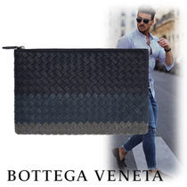 BOTTEGA VENETA Street Style Leather Clutches