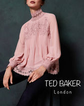 TED BAKER Flower Patterns Long Sleeves Medium Elegant Style