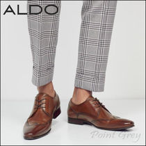 ALDO Wing Tip Plain Leather Oxfords