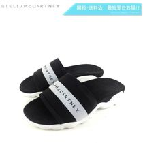 Stella McCartney Open Toe Casual Style Plain Shower Shoes Flat Sandals
