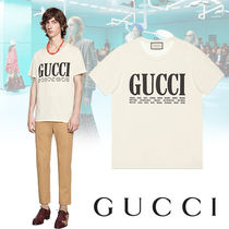 GUCCI Henry Neck Short Sleeves Henley T-Shirts