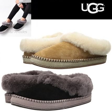 0144e45124af ... UGG Australia Slip-On Moccasin Round Toe Casual Style Sheepskin Plain  ...