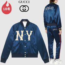GUCCI Short Collaboration Plain Souvenir Jackets