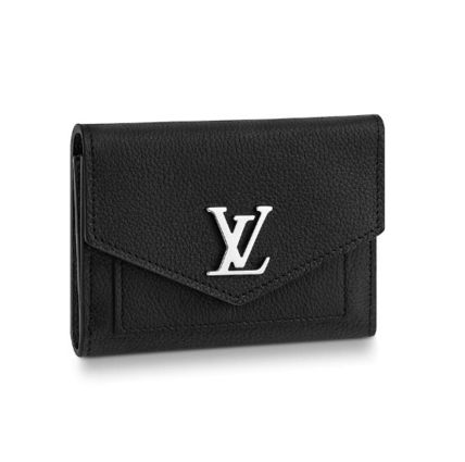 Louis Vuitton Folding Wallets Plain Leather Folding Wallet Folding Wallets 2