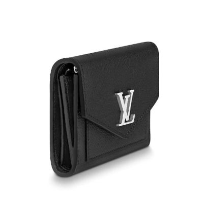 Louis Vuitton Folding Wallets Plain Leather Folding Wallet Folding Wallets 3