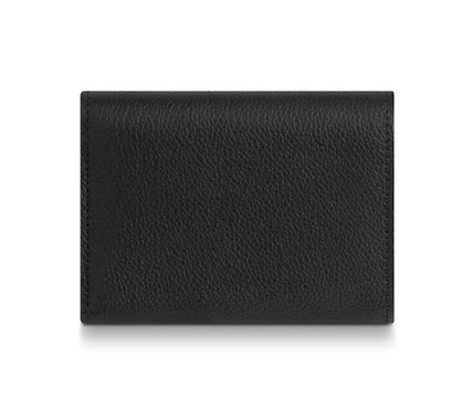 Louis Vuitton Folding Wallets Plain Leather Folding Wallet Folding Wallets 6