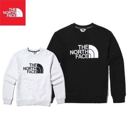 f3669b4a3e ... THE NORTH FACE Sweatshirts Crew Neck Pullovers Unisex Street Style Long  Sleeves Cotton ...