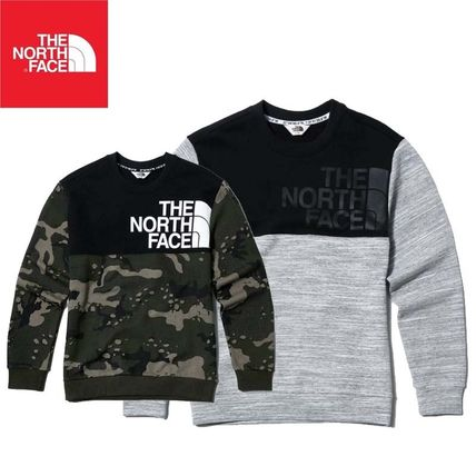6041d76785 ... THE NORTH FACE Sweatshirts Crew Neck Pullovers Unisex Street Style Long  Sleeves ...