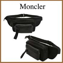 MONCLER Lambskin Plain Hip Packs