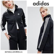 adidas Stripes Casual Style Outerwear