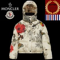 MONCLER Short Flower Patterns Tropical Patterns Street Style