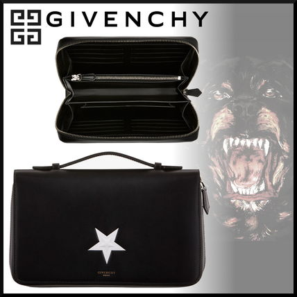 8b8be46f8fa2 ... GIVENCHY Clutches Star Street Style 2WAY Leather Clutches ...