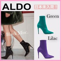 ALDO Casual Style Plain Pin Heels Ankle & Booties Boots