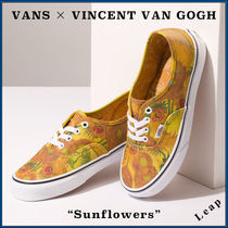 VANS AUTHENTIC Flower Patterns Street Style Collaboration Sneakers