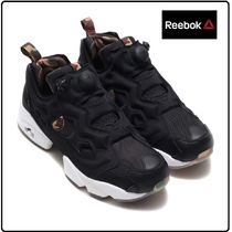 Reebok PUMP FURY Camouflage Casual Style Unisex Low-Top Sneakers