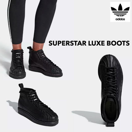 adidas SUPERSTAR 2018-19AW Street Style Low-Top Sneakers by ... 7b21969da